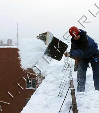 Расчет уборки крыши от снега