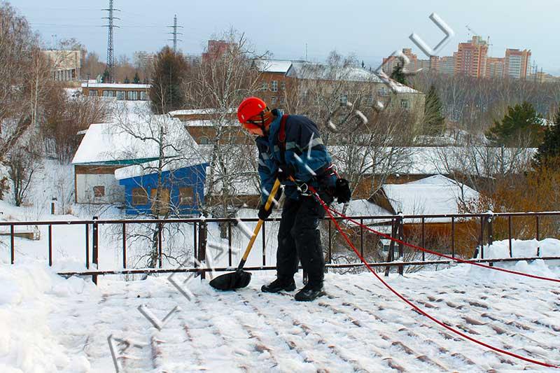 Уборка снега с крыш правила и нормы