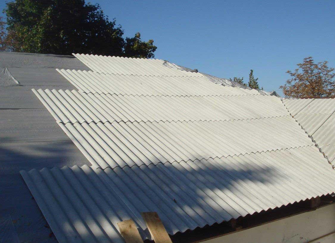Как перекрыть крышу профнастилом после шифера своими руками